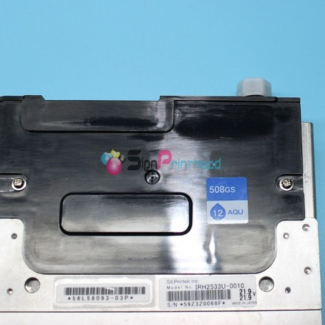 Original and NEW Seiko U508GS / 12PL Print Head for Solvent Printers