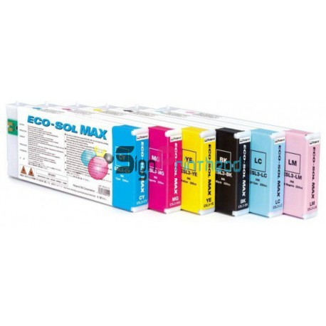 ROLAND ESL3-4BK ECO-SOL MAX BLACK INK CARTRIDGE 440ML